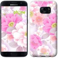 Чехол для Samsung Galaxy S7 G930F Цвет яблони 2225m-106