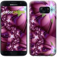 Чехол для Samsung Galaxy S7 G930F Цветочная мозаика 1961m-106