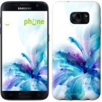 Чехол для Samsung Galaxy S7 G930F цветок 2265m-106