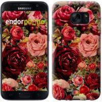 Чехол для Samsung Galaxy S7 G930F Цветущие розы 2701m-106