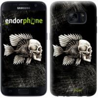 Чехол для Samsung Galaxy S7 G930F Рыбо-человек 683m-106
