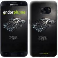 Чехол для Samsung Galaxy S7 G930F Game of thrones. Stark House 1120m-106