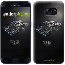 Чехол для Samsung Galaxy S7 G930F Game of thrones. Stark House 1120m-106