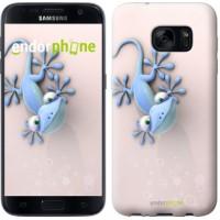 Чехол для Samsung Galaxy S7 G930F Гекончик 1094m-106