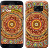 Чехол для Samsung Galaxy S7 G930F Индийский узор 2860m-106