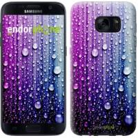 Чехол для Samsung Galaxy S7 G930F Капли воды 3351m-106