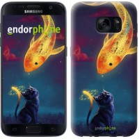 Чехол для Samsung Galaxy S7 G930F Кошкин сон 3017m-106