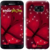 Чехол для Samsung Galaxy S7 G930F Лунная бабочка 1663m-106