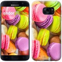 Чехол для Samsung Galaxy S7 G930F Макаруны 2995m-106