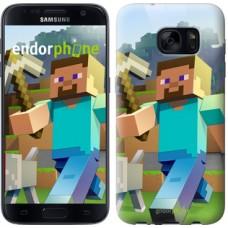 Чехол для Samsung Galaxy S7 G930F Minecraft 4 2944m-106