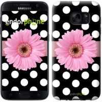 Чехол для Samsung Galaxy S7 G930F Горошек 2 2147m-106