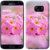 Чехол для Samsung Galaxy S7 G930F Розовая примула 508m-106