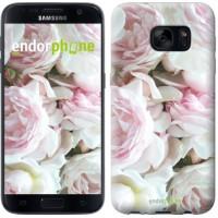 Чехол для Samsung Galaxy S7 G930F Пионы v2 2706m-106