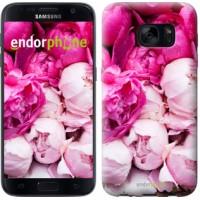 Чехол для Samsung Galaxy S7 G930F Розовые пионы 2747m-106