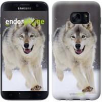 Чехол для Samsung Galaxy S7 G930F Бегущий волк 826m-106