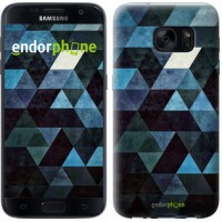 Чехол для Samsung Galaxy S7 G930F Треугольники 2859m-106