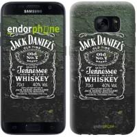 Чехол для Samsung Galaxy S7 G930F Whiskey Jack Daniels 822m-106