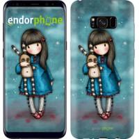 Чехол для Samsung Galaxy S8 Plus Девочка с зайчиком 915c-817