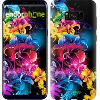 Чехол для Samsung Galaxy S8 Plus Абстрактные цветы 511c-817
