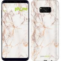 Чехол для Samsung Galaxy S8 Plus Белый мрамор 3847c-817