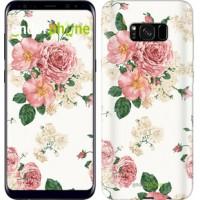 Чехол для Samsung Galaxy S8 Plus цветочные обои v1 2293c-817