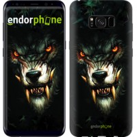 Чехол для Samsung Galaxy S8 Plus Дьявольский волк 833c-817