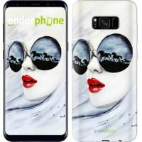 Чехол для Samsung Galaxy S8 Plus Девушка акварелью 2829c-817