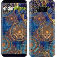 Чехол для Samsung Galaxy S8 Plus Золотой узор 678c-817