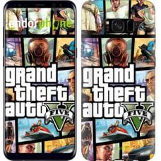 Чехол для Samsung Galaxy S8 Plus GTA 5. Collage 630c-817