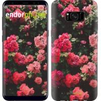 Чехол для Samsung Galaxy S8 Plus Куст с розами 2729c-817