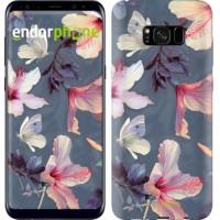 Чехол для Samsung Galaxy S8 Plus Нарисованные цветы 2714c-817