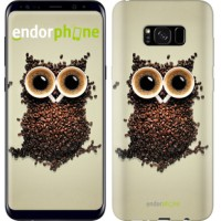 Чехол для Samsung Galaxy S8 Plus Сова из кофе 777c-817