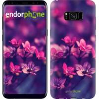 Чехол для Samsung Galaxy S8 Plus Пурпурные цветы 2719c-817
