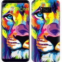 Чехол для Samsung Galaxy S8 Plus Разноцветный лев 2713c-817