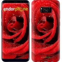 Чехол для Samsung Galaxy S8 Plus Красная роза 529c-817