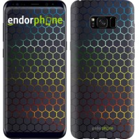 Чехол для Samsung Galaxy S8 Plus Переливающиеся соты 498c-817