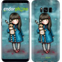 Чехол для Samsung Galaxy S8 Девочка с зайчиком 915c-829