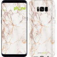 Чехол для Samsung Galaxy S8 Белый мрамор 3847c-829