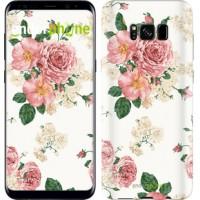 Чехол для Samsung Galaxy S8 цветочные обои v1 2293c-829