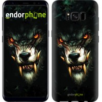 Чехол для Samsung Galaxy S8 Дьявольский волк 833c-829