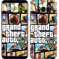 Чехол для Samsung Galaxy S8 GTA 5. Collage 630c-829
