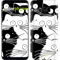 Чехол для Samsung Galaxy S8 Коты v2 3565c-829