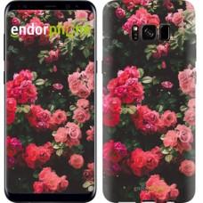 Чехол для Samsung Galaxy S8 Куст с розами 2729c-829