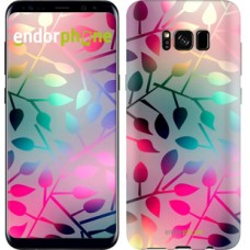 Чехол для Samsung Galaxy S8 Листья 2235c-829