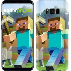 Чехол для Samsung Galaxy S8 Minecraft 4 2944c-829