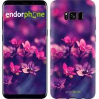 Чехол для Samsung Galaxy S8 Пурпурные цветы 2719c-829