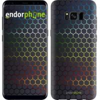 Чехол для Samsung Galaxy S8 Переливающиеся соты 498c-829