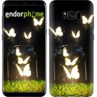 Чехол для Samsung Galaxy S8 Светящиеся бабочки 2983c-829