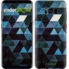 Чехол для Samsung Galaxy S8 Треугольники 2859c-829