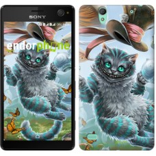 Чехол для Sony Xperia C4 Чеширский кот 3993m-295
